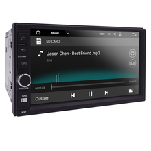 2 din android 5.1 2din New universal Car Radio Double Car Player GPS Navigation In dash Car PC Stereo video 1G RAM(Optional) map