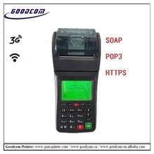 3G & WIFI POS Terminal Printer for webserver orders.Support rmeote setting(China)