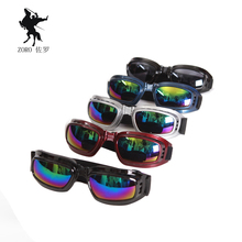 Cool Motocross ATV Dirt Bike Off Road Racing Goggles Motorcycle glasses Surfing Airsoft Paintball can fold