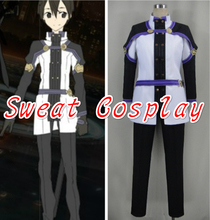 New Arrive Sword Art Online The Movie: Ordinal Scale Kirito Cosplay Costume Custom Made