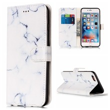 For iphone 5 5s SE 6 6s plus 7 plus/iPod Touch 5 6 Granite Marble Case Stand Wallet Dream Catcher Leather Cover With Card Slots(China)