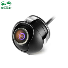 Mini CCD Night Vision 360 Degree Car Rear View Camera Front View Camera With Mirror Image Conversion Line