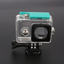 40M Underwater Housing Case For xiaomi yi Action Camera Waterproof/Dustproof Case Diving Snorkeling Sports Box Free Shipping
