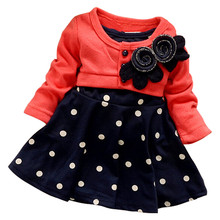 Spring warm clothes for girls kids clothing knitwear + one piece dress cute baby girls clothing