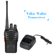 16CH FM UHF 400-470MHz Talkie Walkie Transceiver 2way Radio Portable Handheld Interphone Long Distance 1500mah Battery Flashligt