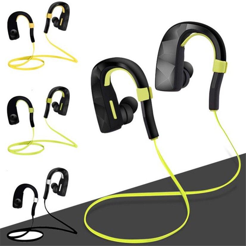 Factory Price Binmer Bluetooth EarHook Wireless Sports Stereo Waterproof Headset Earphone For iphone7 Sept15 High Quality<br><br>Aliexpress