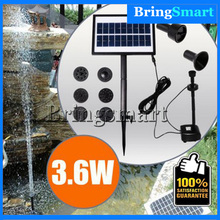 Free shipping JT-170250DBL-3.6W Lift 100CM DC Pump Pool Brushless Solar Water Pump Kit Landscape Fountain Floating Pump