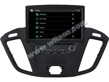 "8"" Capacitive Touch Special Car DVD for Ford Tourneo with External WIFI/3G Dongle Support & Front DVR Camera Support"