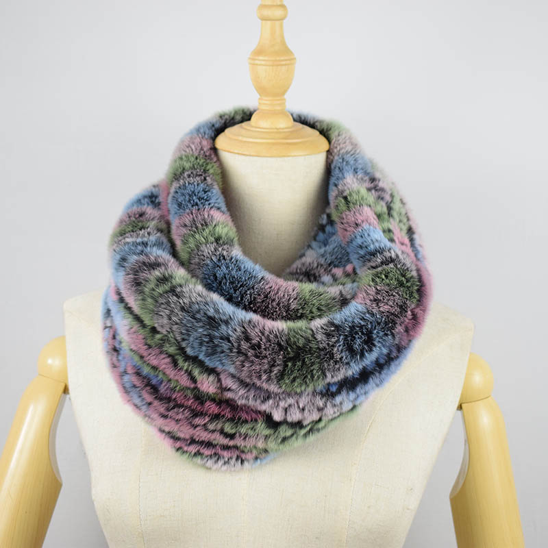 rex rabbit fur scarf 9
