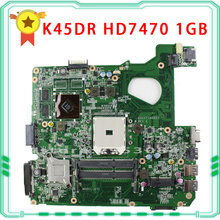 for A45D A45DR K45D K45DR R400D R400DR ASUS motherboard AMD A70M Radeon HD 7470M 1 GB 216-0809000 fully tested & working perfect