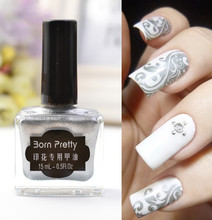 Buy 15ml Cool Silver Color Born Pretty Nail Art Stamping Stamp Polish Nail Polish Stamp Polish Tool Nail DIY Polish#2 for $2.55 in AliExpress store