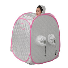 Steam sauna box Portable Steam Sauna Folding family with Adults and children relieve pains of body relaxing sauna(China)