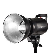Godox SK300 Pro Photography 300W 300Ws GN58 flash studio Flash Strobe Lamp Light Head with bulb SK Series 200V~240V Power