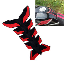 Universal Rubber 3D Motorcycle Sticker Fuel Tank Protector Pad Cover Decoration Decal Cover for Honda KTM Yamaha Kawasaki Suzuki