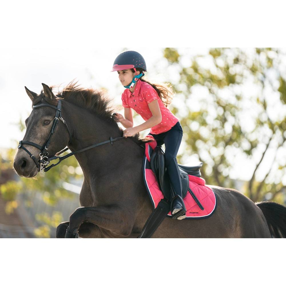 BR180+Kids+Full+Seat+Horse+Riding+Jodhpurs+Navy+1282424