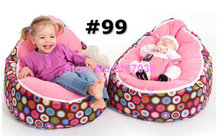 disco balls pink seat baby bean bag chairs/ comfortable baby bean bag bed filling without poly beans - 2 in 1 multifunction beds