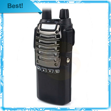 6pcs/lot best price 1800mAh Li-ion battery baofeng UV 8 dual band vhf/uhf handheld walkie talkie free shiping