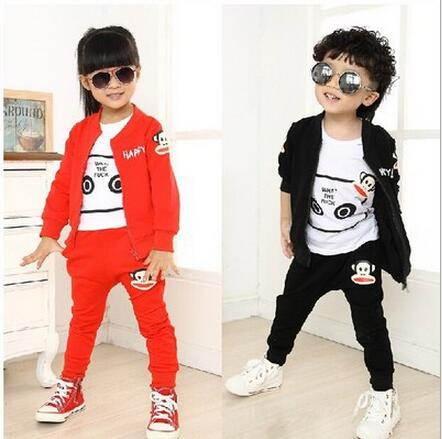 New 2017 Spring Kids Clothes Long Sleeve Conjunto Infantil Menina Sports Suit Casual Zipper Coat And Trousers Boys Clothing Set<br><br>Aliexpress