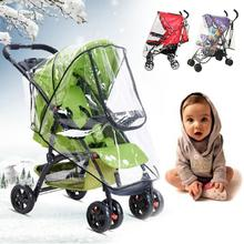 Universal Strollers Pushchairs Practical Baby Carriage Waterproof Stroller Dust Rain Pushchair Cover Windshield Wheelchair