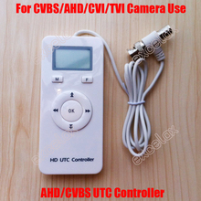 4 In 1 CVBS AHD TVI CVI Analog HD UTC Controller Up the Coax for Security CCTV Camera BNC Coaxial Cable OSD Menu Remote Control