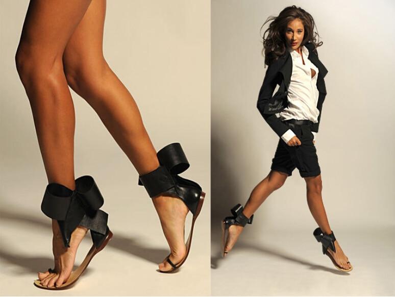 Hot Sale Open Toe Leather gladiator sandals women Flats Designer Bowtie Women sandal Summer Shoes Woman Ankle Strap Women Boots<br><br>Aliexpress