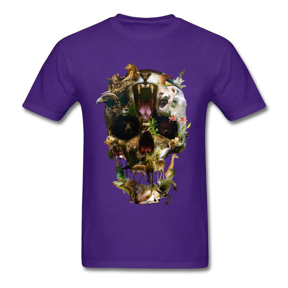 Kingdom Men Discount Summer Tops & Tees O Neck Summer/Autumn 100% Coon Fabric T-Shirt Casual Short Sleeve Tee Shirt Kingdom purple