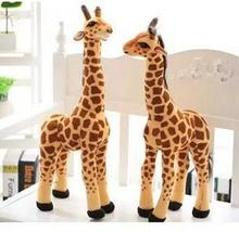 Stuffed Simulation giraffe plush toys birthday gift