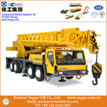 1:50 Scale Model, Diecast Model, Construction Model, XCMG QY70K Truck Crane Model, Replica