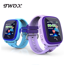 Waterproof DF25 Smart Watch PK Q100 Children GPS Swim touch phone SOS Call Location Device Tracker Kids Safe Anti-Lost Monitor