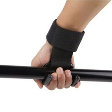 Top Sale New 1pc Strong Pro Weight Lifting Training Gym Hook Grip Strap Glove Wrist Support Practical Adjustable Wrist Straps