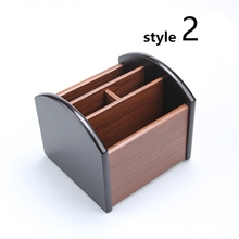 New Style Office Desk Accessories High Quality Dest Set Wooden Office Supply Wooden Office Organizer 8 Style to Choose