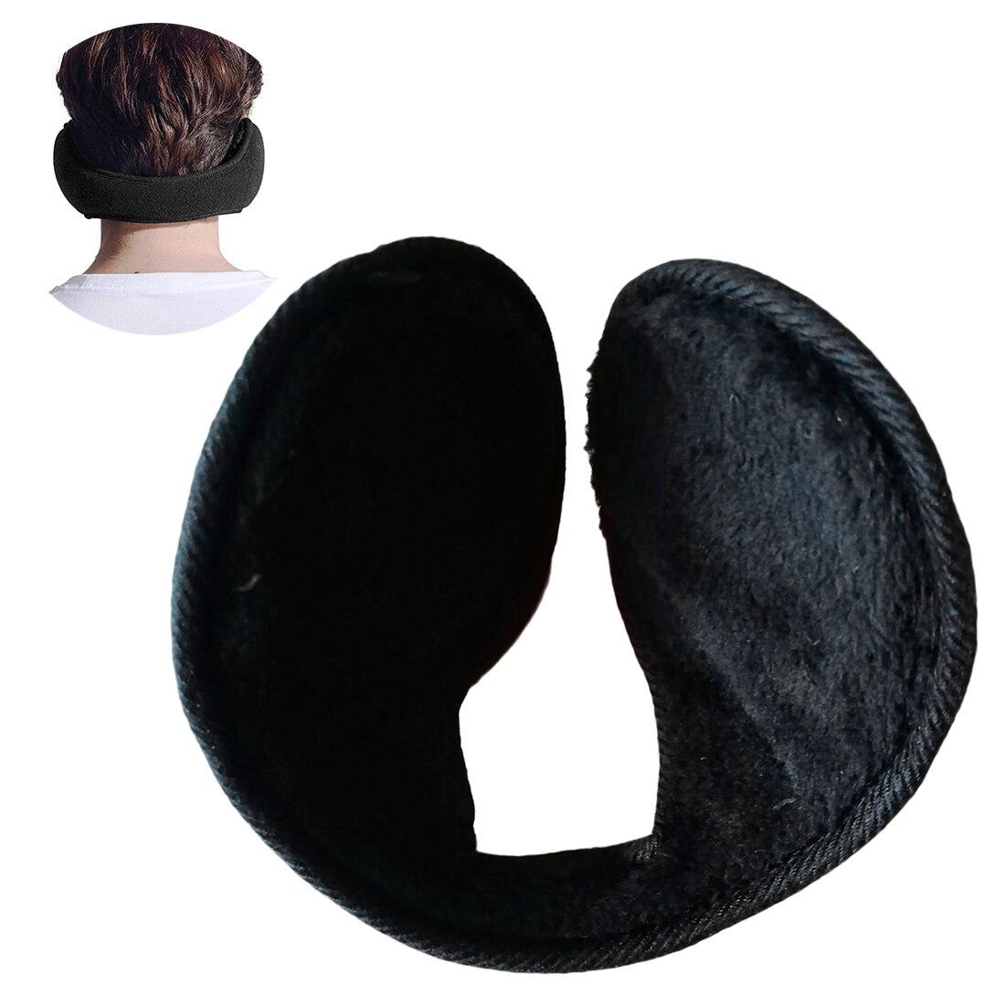 Unisex Ear Muffs Winter Ear warmer Fleece Earwarmer Behind the Head Band Design^