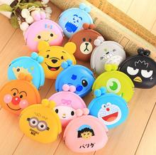 Children Kids Gifts Animals Girls Silicone small mini Coin Bag mini Coin Purse change wallet purse women key wallet coin Wallet