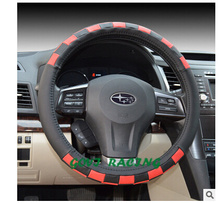 Biege universal car steering wheel cover real leather 38cm great wall hover auto parts accesorios para autos car-styling(China)