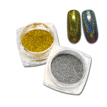 SWEET TREND 1g/Bottle Shinning Mermaid Nail Glitter Powder Nail Art Decorations UV Gel Tips Nail Dust Beauty Nail Tools LAM09-10