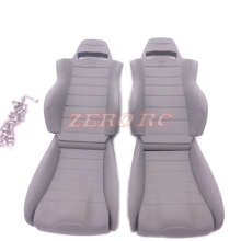 1/10 Scale Rc Truck Accessories AXIAL WRAITH RR10 Cab Seat Bench For 1:10 Rock Crawler Car 1 Pair(China)