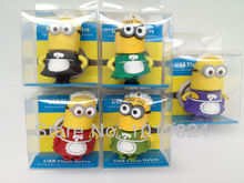 100% real capacity4G 8G 16G Yellow Man put on maid dress Despicable Me USB 2.0 usb flash drive Pen Drive pendrive BN2(China)