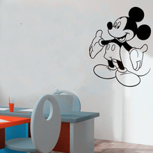 BucKoo New Family stickers - mickey mickey mouse personalised  boys and gril bedroom DIY Wall stickers/decals home decor A018