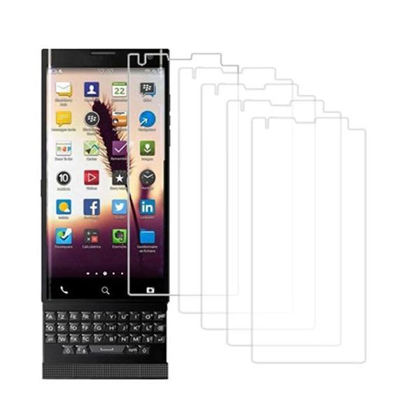 5Pcs Anti-scratch Ultra Clear PET Film Screen Protector For BlackBerry Priv
