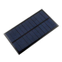 Mini 6V 1W Solar Panel Solar System DIY For Battery Cell Phone Toys Chargers Portable Solar Power Panel Drop Shipping