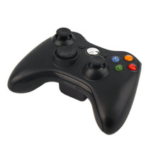 Black Beautiful 2.4G Wireless Gamepad Joypad Game Remote Controller Joystick With Pc Reciever For Microsoft For Xbox 360 Console