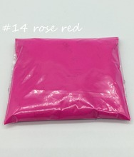 10gr Rose Color Fluorescent Powder phosphor Pigment for Paint, Neon powder Nail Art Polish&soap,make up,not glow powder