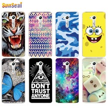 For Asus Zenfone Go ZB450KL Case Cover Tiger Butterfly Panda Tower Lips Bob Cat Soft Silicone TPU Cover Case Capa Coque Funda