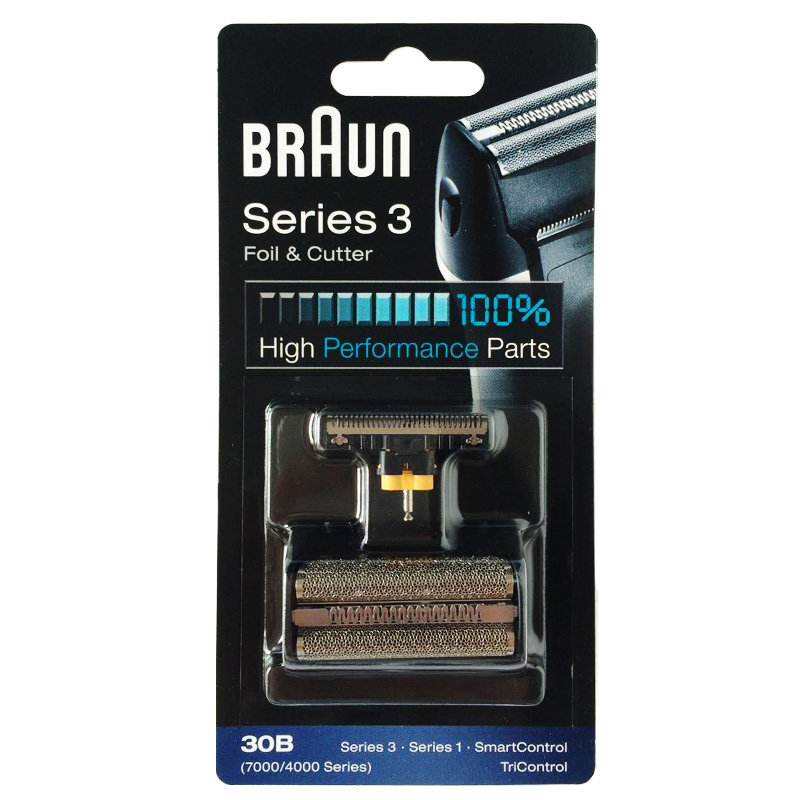Braun 30B Foil&amp; Cutter Replacement for 7000/4000 Series Shavers(Old 310 330 340 , 4775 4835 4875 5746 7630)<br>