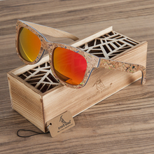BOBO BIRD AG021 Brand Design Unique Cork Wooden Sunglasses Men Women Luxury Variation Retro Eyewear Polarized Sunglasses As Gift(China)