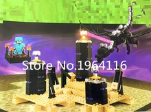 NEW 10178 my world series The Ender Dragon model Building Blocks compatible 21117 Classic Architecture toy for children(China)
