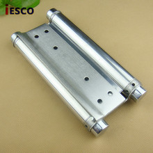 Open the door hinge hinge free stainless steel spring hinge bidirectional spring hinge in (only) 8 inch double(China)