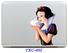 NEW Snow White Vinyl Protective Laptop Skin Decal  For Apple Macbook Air 11 Laptop Sticker For Mac book 11.6 inch (TXC-002)