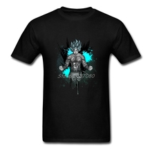 Dragon Ball Tattoo T Shirt Plus Size Short Sleeve Custom Clothes New Cheap O-neck Cotton T Shirts For Boys(China)