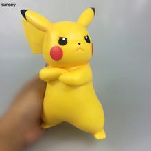 "Anime 8"" Pikachu Figure Toys Cartoon Movie Action Figure Toys Japanese Doll Lovely Gift 20CM for kids christmas gift"